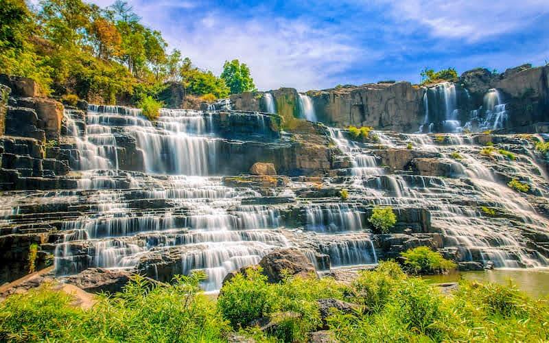 ダラット 滝
